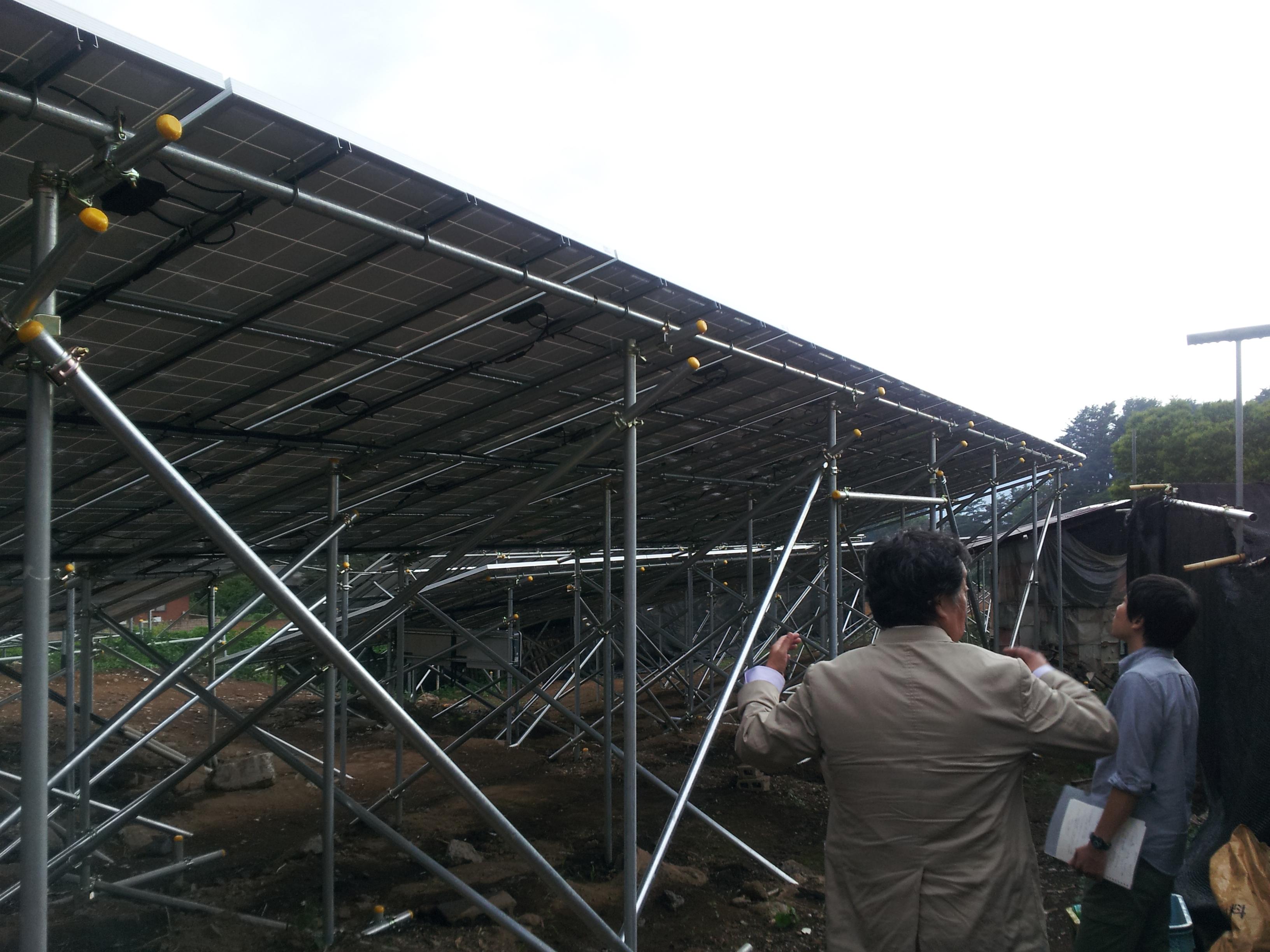 2013/06/14 北杜市・株式会社GreenTのソーラー発電事業